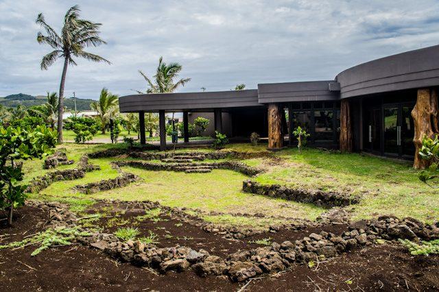 Isla De Pascua Hotel Hangaroa Arquitectura