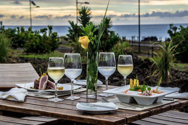 Isla De Pascua Hotel Hangaroa Restaurante Poevara