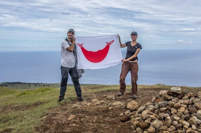 Isla De Pascua Maunga Terevaka Volcan Altura