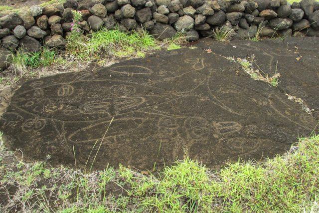Isla De Pascua Petroglifos