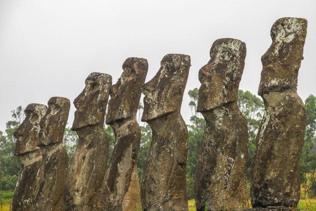 Isla De Pascua Rapa Nui Ahu Akivi Mahinatur