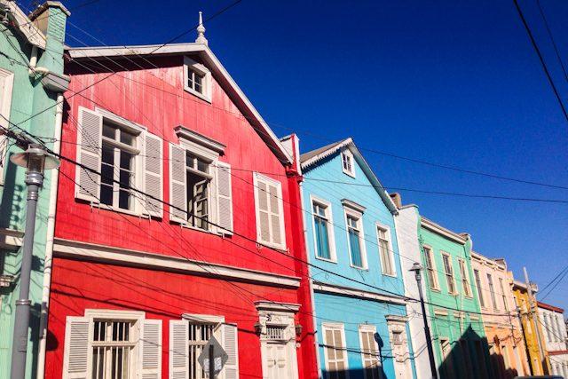 Valparaiso Casas Colores
