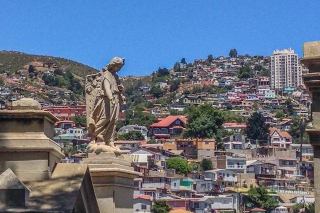 Valparaiso Cerro Panteon Cementerio