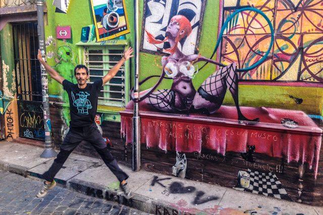 Valparaiso Grafiti Salto
