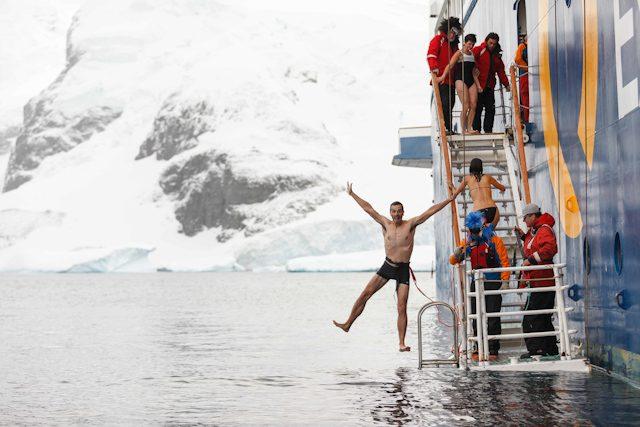 Antartida JAAC Polar Plunge