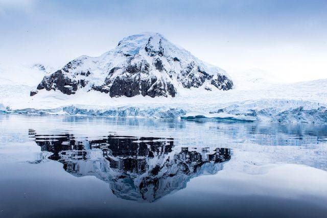 Antartida Montaña Hielo