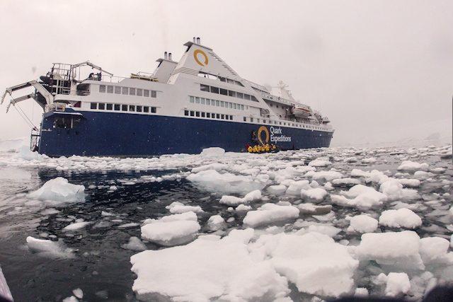 Antartida Zodiac Barco