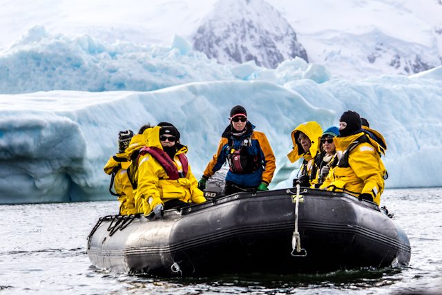 Antartida Zodiac Salida