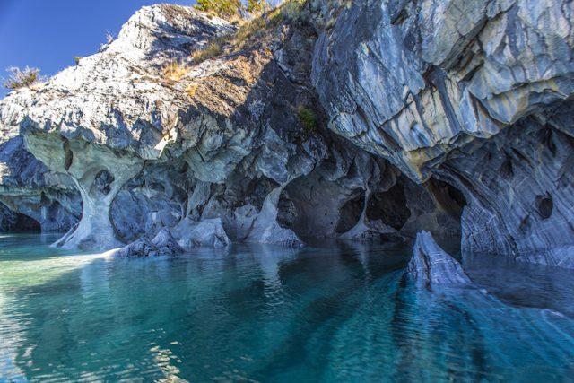 Qu ver en la patagonia argentina y chilena for De donde se extrae el marmol