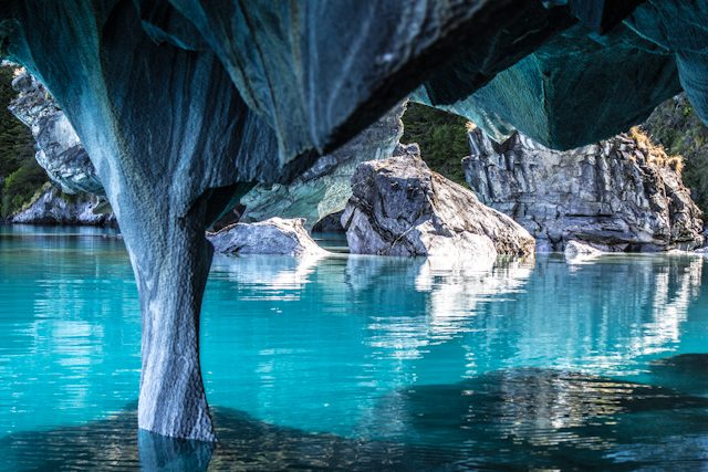 Chile Puerto Tranquilo Cuevas de Marmol
