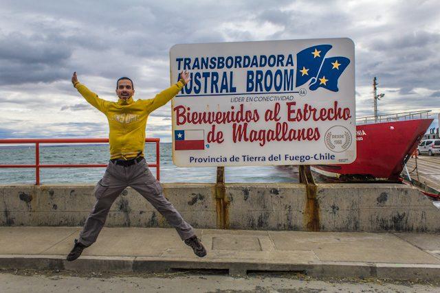 Estrecho Magallanes Salto