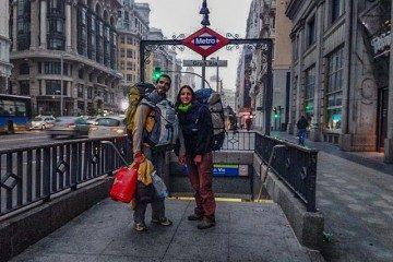 Madrid Gran Via Vuelta