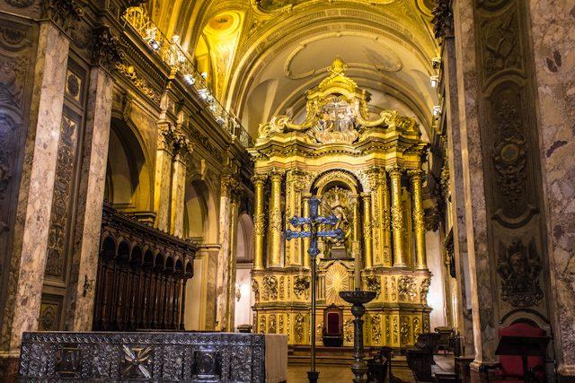 Argentina Buenos Aires Catedral Interior