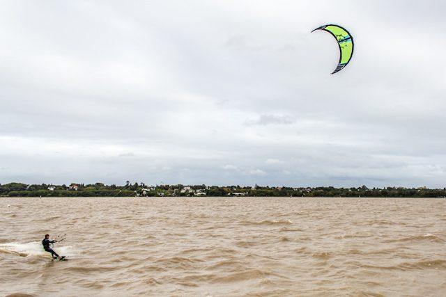 Argentina Buenos Aires Rio Plata Kitesurf