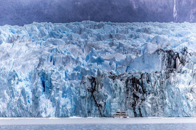 Argentina El Calafate Glaciar Spegazzini Pared