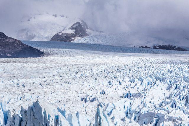Argentina El Calafate Perito Moreno Panorama Superior