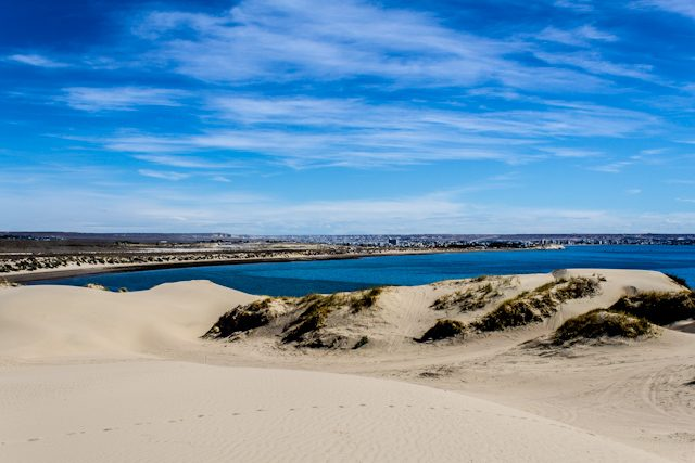 Argentina Puerto Madryn Dunas Golfo Nuevo
