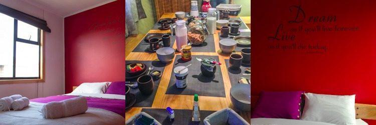 Chile Puerto Natales Hostal Morocha Mosaico