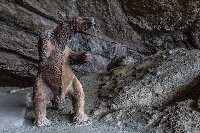Chile Puerto Natales Milodon Cueva