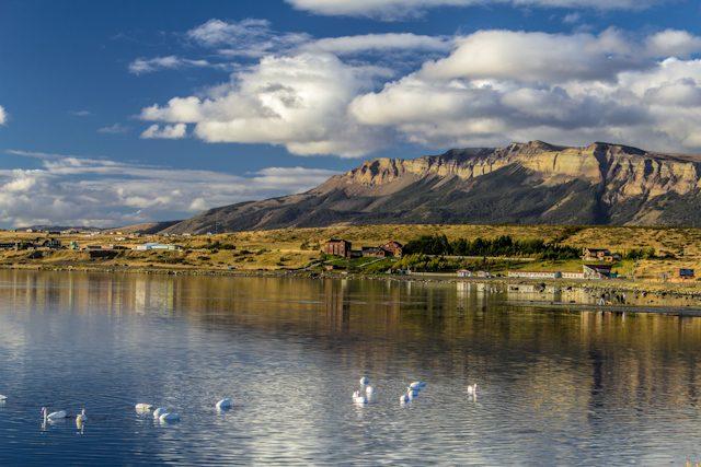 Chile Puerto Natales Rivera Natalis
