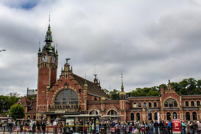 Polonia Gdansk Estacion Ferrocarril