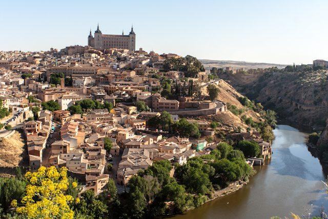 Toledo Panoramica Alcazar