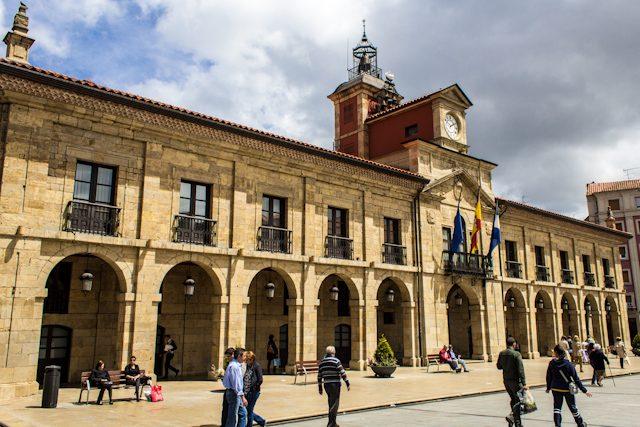 Asturias Aviles Ayuntamiento