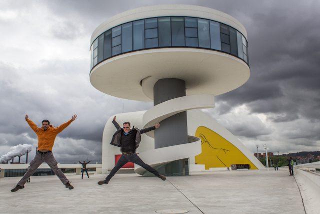 Asturias Aviles Centro Niemeyer Salto Avistu