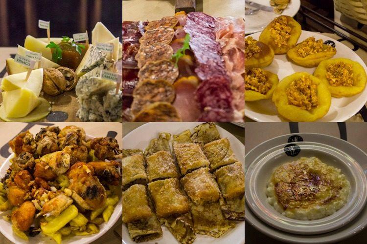 Asturias Aviles Tierra Astur Comida Mosaico