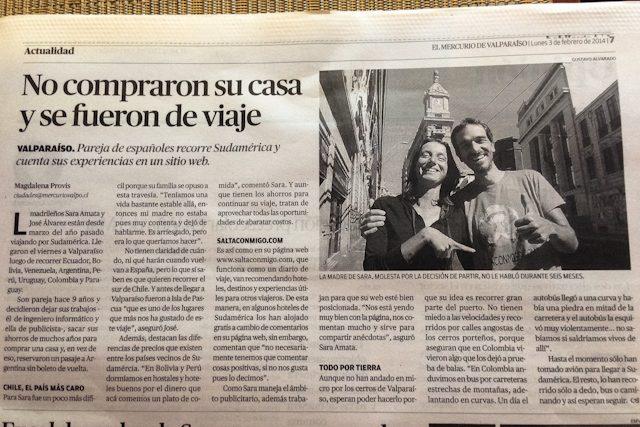 Periodico El Mercurio Valparaiso