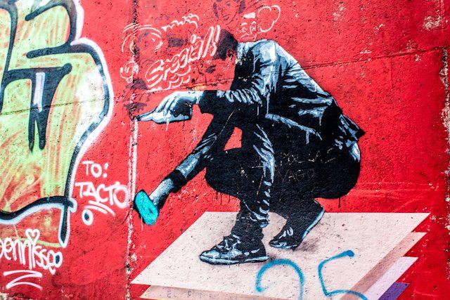 Gijon Puerto Graffiti