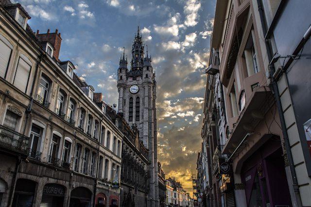 Norte de Francia Ayuntamiento Douai