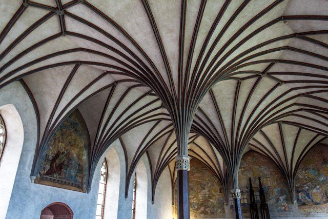 Polonia Castillo Malbork Gran Refectorio