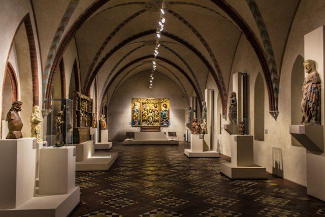 Polonia Castillo Malbork Sala Museo