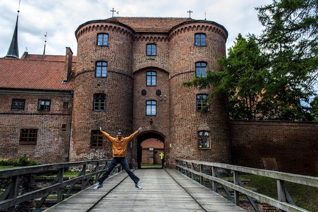 Polonia Frombork Muralla Salto