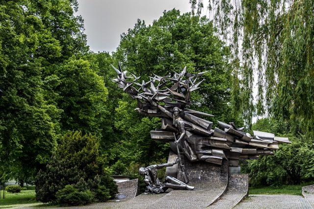 Polonia Gdanks Monumento Caidos Segunda Guerra Mundial