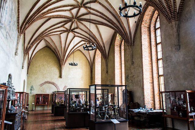 Polonia Lidzbark Warminski Castillo Obispos Warmia Sala Museo
