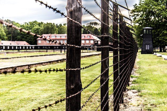 Polonia Stutthof Alambre Campo Concentracion Administrativos
