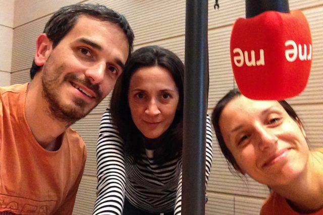 Radio Nacional España Travesias Maria Eulate Microfonos