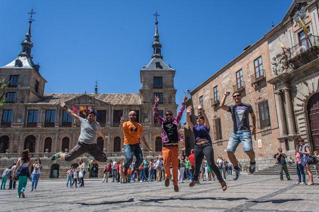 Toledo Salto Ayuntamiento