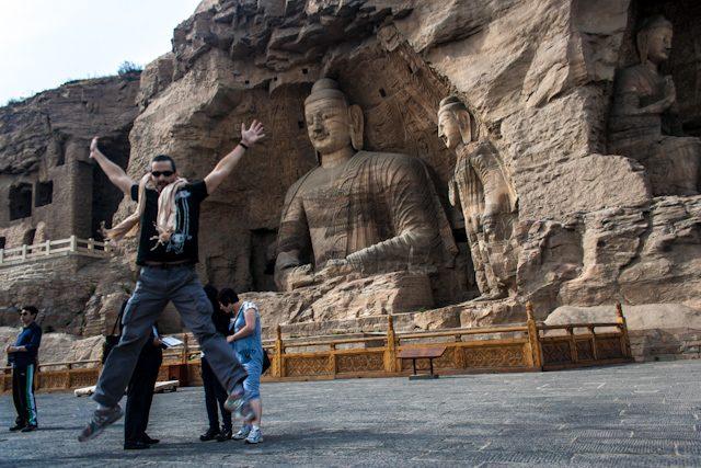 China Cuevas Yungang Datong Salto