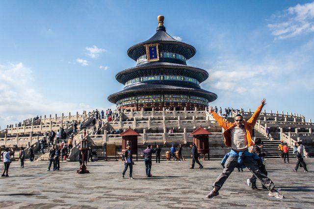 China Pekin Templo Cielo Salto