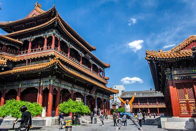 China Pekin Templo Lamas Salto