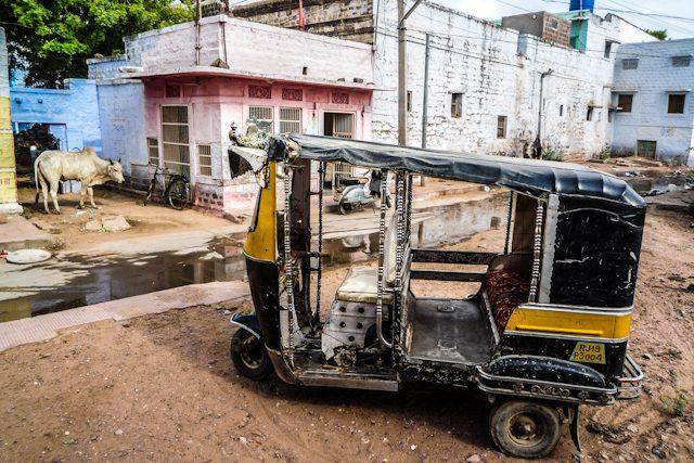 India Jodhpur Tuktuk