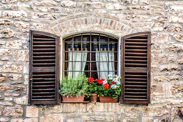 Italia Assisi Ventana
