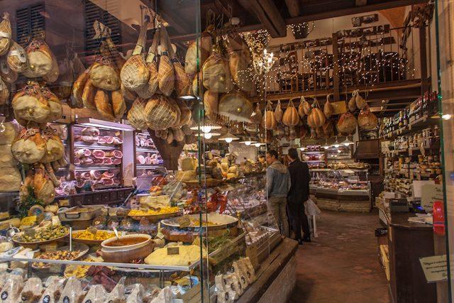 Italia Emilia Romagna Tienda Comida