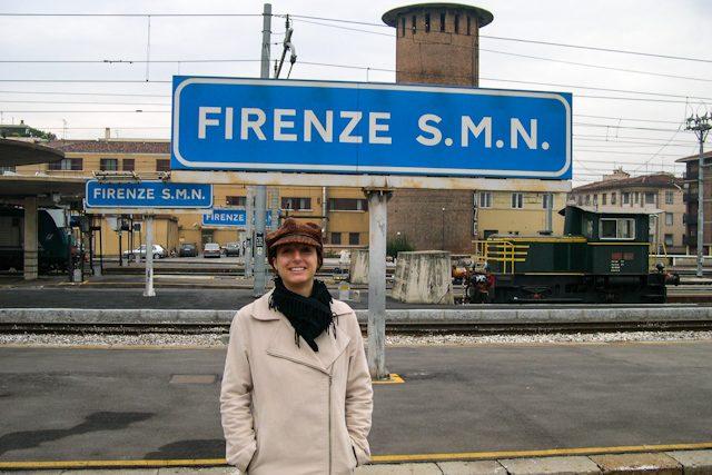 Italia Firenze Estacion Tren