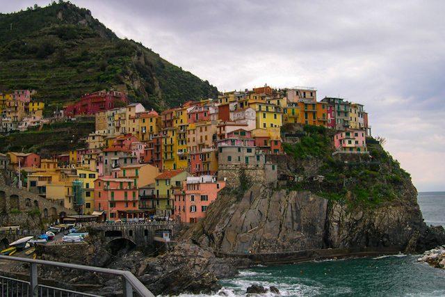 Italia Liguria Cinque Terre Manarola