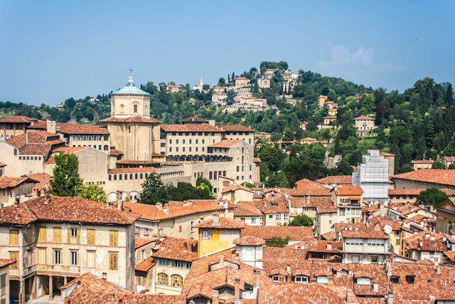 Italia Lombardia Bergamo Citta Alta