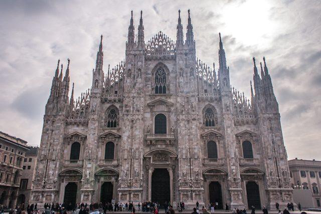Italia Lombardia Milano Duomo